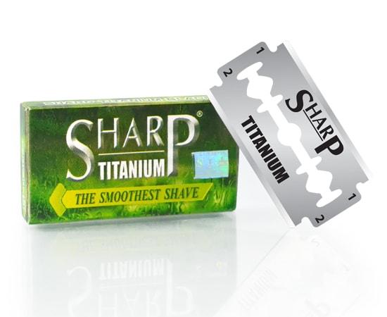 [:bd]Sharp Titanium Double Edge Blade[:]